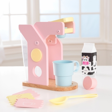 Kidkraft Coffee Maker Set in Pastel - Click to enlarge