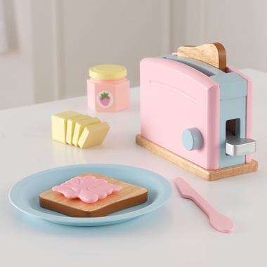 Kidkraft Toaster Set in Pastel - Click to enlarge