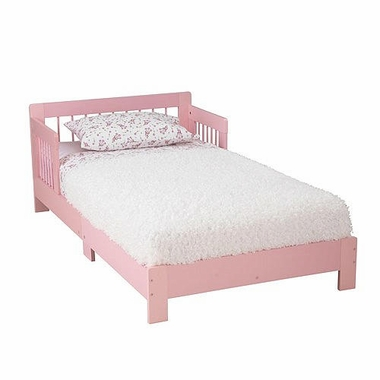 Pink Houston Convertible Toddler Bed by KidKraft - Click to enlarge