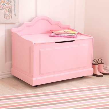 Pink Raleigh Contemporary Toy Box by KidKraft - Click to enlarge