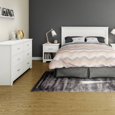South Shore Step One Collection Double Bed