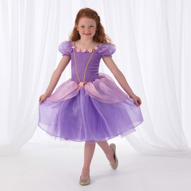 Kidkraft Purple Rose Princess Costume in Medium - Click to enlarge