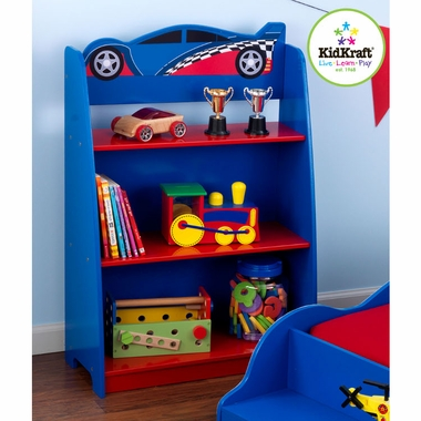 Racecar Bookshelf by KidKraft