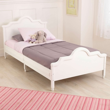 Kidkraft Raleigh Twin Bed in White - Click to enlarge