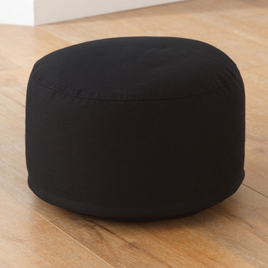 Kidkraft Round Pouf in Black - Click to enlarge