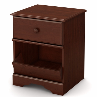 Royal Cherry Little Treasures 1 Drawer Night Stand by South Shore - Click to enlarge