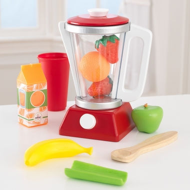 Kidkraft Smoothie Set in Red & White - Click to enlarge