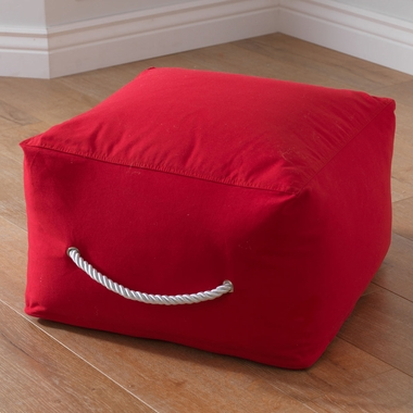 Kidkraft Square Pouf in Pink - Click to enlarge