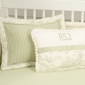 Toile Green Bedding Collection