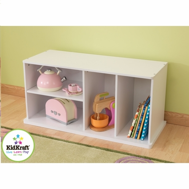 White Add On Storage Unit by KidKraft - Click to enlarge