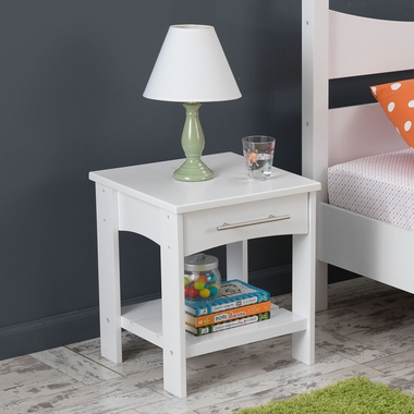 White Addison Toddler Table with Shelf by KidKraft - Click to enlarge