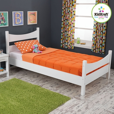White Addison Twin Bed by KidKraft - Click to enlarge
