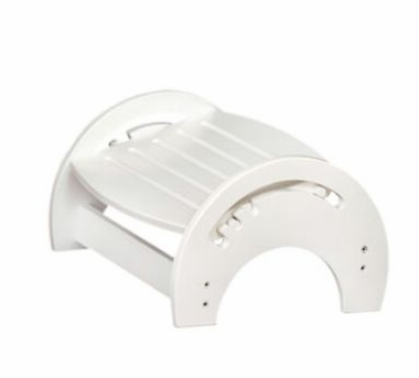White Adjustable Nursing Stool by KidKraft - Click to enlarge