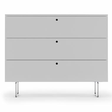 White Alto 3 Drawer Dresser by Spot On Square