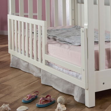 White Bergamo Toddler Rail by Pali - Click to enlarge