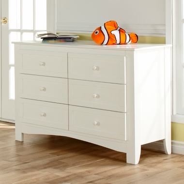 White Bolzano Double Dresser by Pali - Click to enlarge