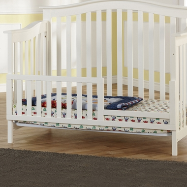 White Bolzano Toddler Rail by Pali - Click to enlarge