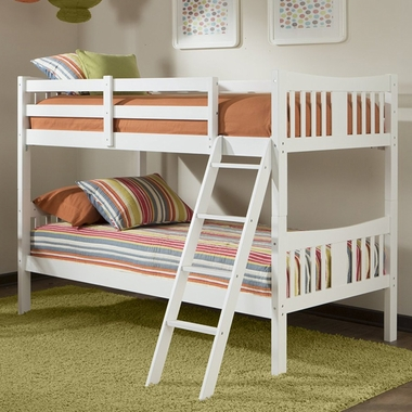 White Caribou Bunk Bed by Storkcraft - Click to enlarge