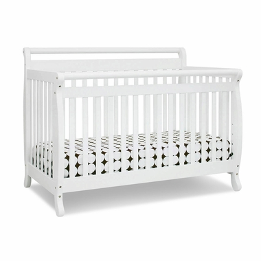 White Emily 4 in 1 Convertible Crib by DaVinci - Click to enlarge