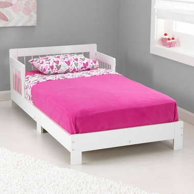 White Houston Convertible Toddler Bed by KidKraft - Click to enlarge