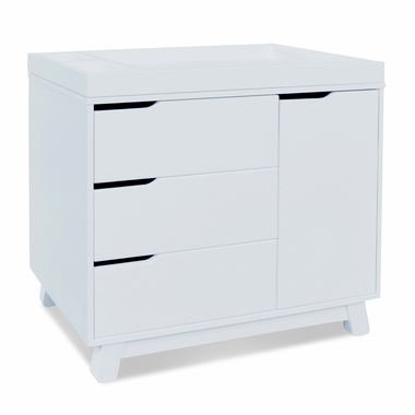 White Hudson Changer Dresser by Babyletto - Click to enlarge