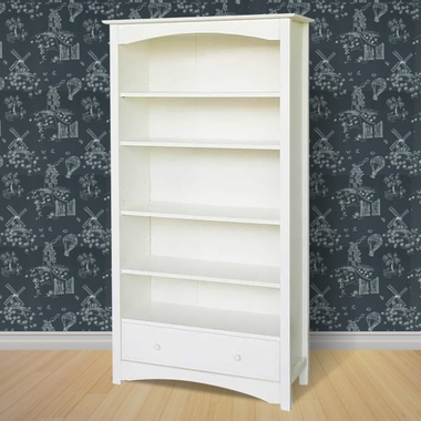 White Jayden Bookcase by DaVinci - Click to enlarge