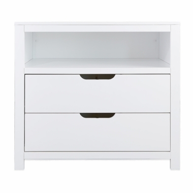 White Oslo 2 Drawer Dresser by Karla DuBois - Click to enlarge