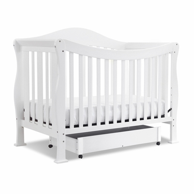White Parker 4 in 1 Convertible Crib by DaVinci - Click to enlarge