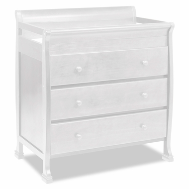 White Porter 3 Drawer Changer by DaVinci - Click to enlarge