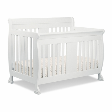 White Porter 4 in1 Convertible Crib by DaVinci - Click to enlarge
