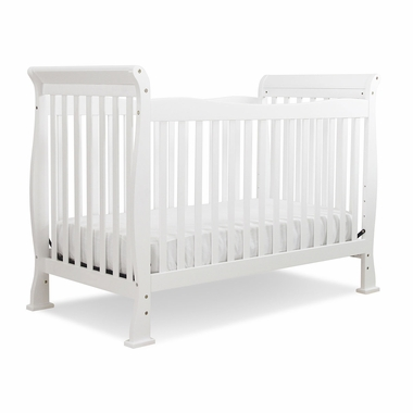 White Reagan 4 in 1 Convertible Crib by DaVinci - Click to enlarge