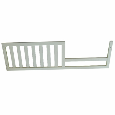 White Sorelle Bedford Toddler Rail by Sorelle