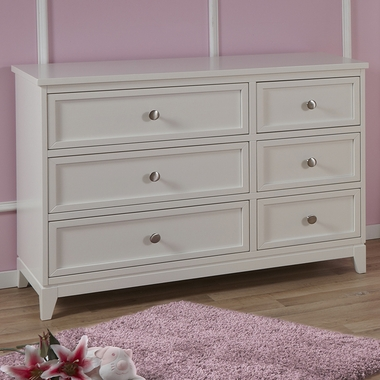 White Treviso Double Dresser by Pali - Click to enlarge