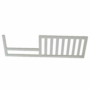 White Tuscany Crib Mini Siderail Toddler Conversion Kit by Sorelle - Click to enlarge