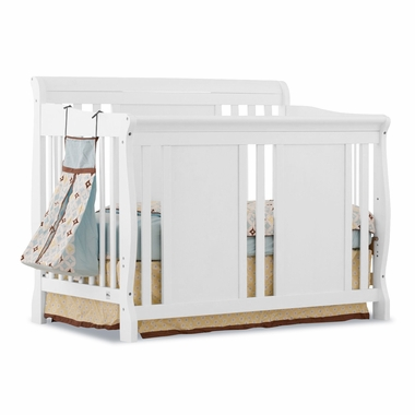 White Verona 4 in 1 Convertible Crib by Storkcraft - Click to enlarge