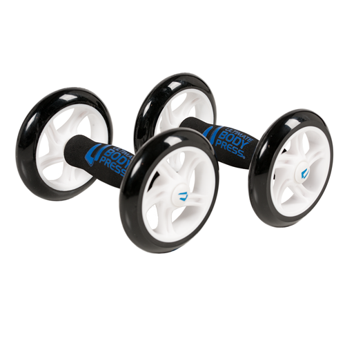 Double Ab Wheel Rollers For Rapid Abdominal Muscle Development