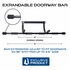 Adjustable Width Doorway Pull Up Bar
