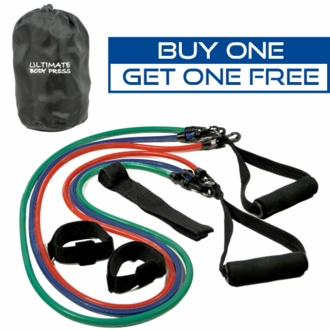 Buy 1 Get 1 Free! Exercise Resistance Bands