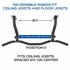 Ceiling Mount Pull Up Bar with Ergonomic Bar