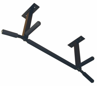 "Ceiling Mounted Pull Up Bar 24"" Parallel Grip Spacing"