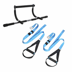 New Pull Up Bar Suspension Trainer Package Deal