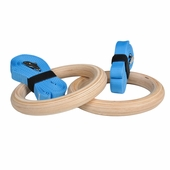 New! Wood Gymnastic Rings