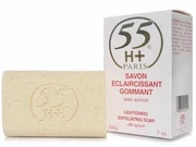 55H+ Lightening Exfoliating Soap 7oz