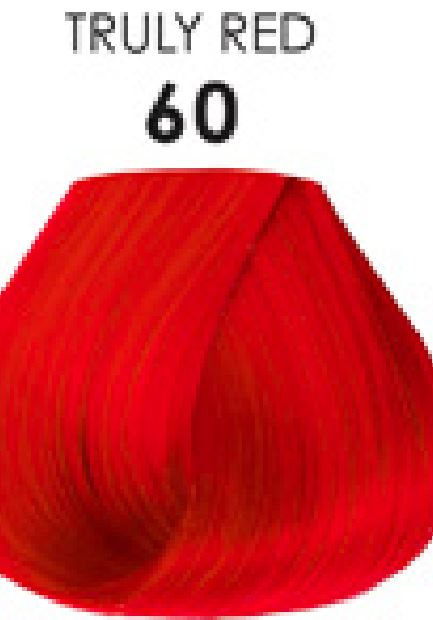 Adore Semi Permanent Hair Color 60 Truly Red 4 Oz