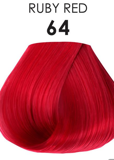 Adore Semi Permanent Hair Color 64 Ruby Red 4 Oz