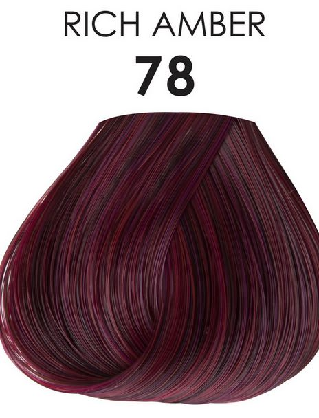 Amber Hair Permanent Color  Dark Brown Hairs