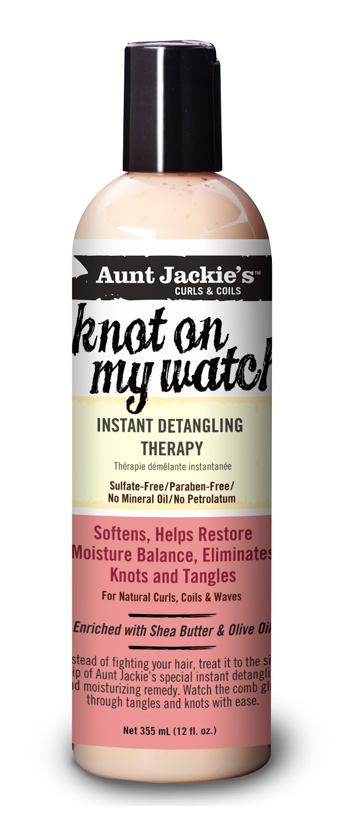 Aunt Jackies Knot On My Watch Instant Detangling Therapy