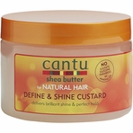 Cantu for Natural Hair Define and Shine Custard 12 oz