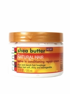 Cantu Shea Butter for Natural Hair Leave In Conditioning Repair Cream 12 oz