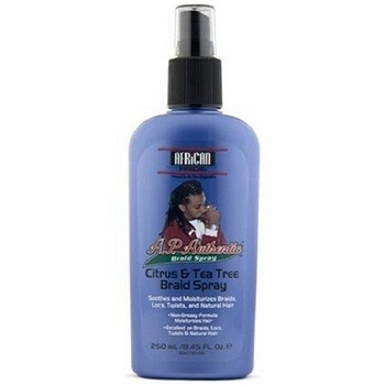 African Pride Citrus and Tea Tree Braid Spray 8.45 oz